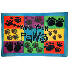 Wipe Your Paws Dog Doormat Wipe Your Paws