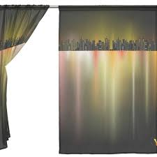 summer eve curtain and home decor decorate the house with
