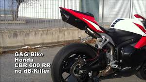 buy honda cbr600rr g u0026g exhaust honda cbr600rr 07 13 youtube