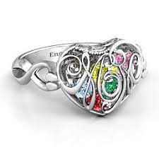 mothers infinity ring design your own mothers rings jewlr
