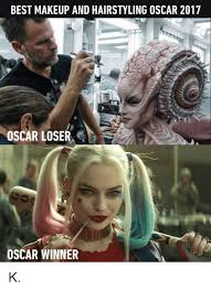 Makeup Artist Memes - best makeup and oscar 2017 and hairstyling oscar loser oscar