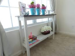 Diy Console Table Console Tables Wonderful Diy Console Table With Shelf Ideas
