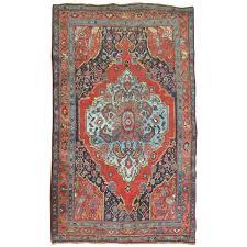 Bidjar Persian Rugs by Pictorial Antique Persian Bidjar Rug For Sale At 1stdibs