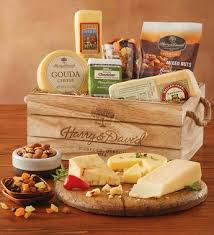 cheese gift basket gourmet cheese gift crate specialty foods cheese harry david