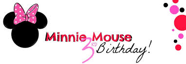 minnie mouse birthday minnie mouse 3rd birthday a dippin doodles