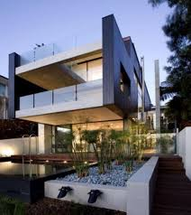 futuristic townhouse with central glass axis idesignarch house