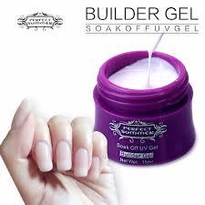 aliexpress com buy 4 pcs french manicure gel soak off uv builder