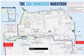 Austin Marathon Map by San Francisco Marathon Street Closures And Muni Disruptions