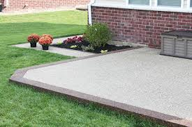 Exposed Aggregate Patio Pictures exposed aggregate concrete advantages and disadvantages