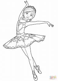 Félicie Milliner From Ballerina Movie Coloring Page Free Ballerina Printable Coloring Pages