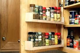 spice rack cabinet insert pantry door spice racks the owner builder network pantry door spice