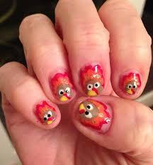 201 best thanksgiving nail art images on pinterest fall nail art