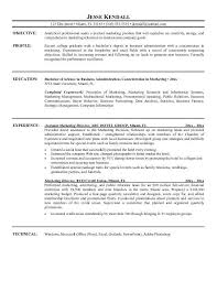 resume objective statement for management
