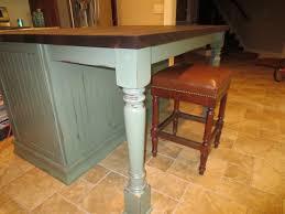 wood kitchen island legs kitchen island legs brilliant home interior design ideas