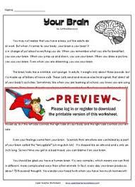 your brain super teacher worksheets pdf drive