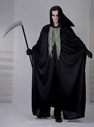 Grim Reaper Halloween Costume Mens Halloween Grim Reaper Costume