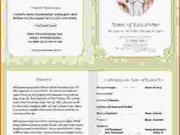 37 funeral program templates free funeral program template 30