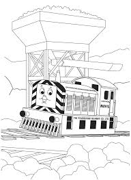 thomas color pages thomas colouring