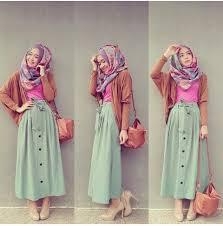 rok panjang muslim kontruksi pola busana muslim model rok terbaru