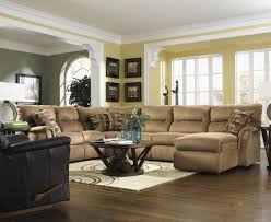 Sectional Sofa In Small Living Room Living Room L Shaped Brown Cabin Shabbychic Style Category