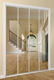 Mirror Bifold Closet Door Series 4003 Bifold Mirror Door Daiek Door Systems