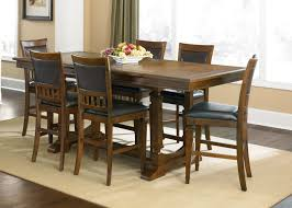 dining room unique taraval 5 pieces dining set in cappuccino