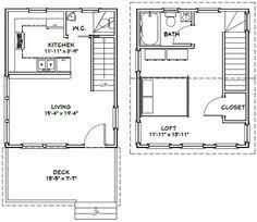 16x28 tiny house 16x28h6c 806 sq ft excellent floor plans