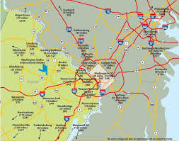 washington dc airports map estimated taxi fares metropolitan washington airports authority