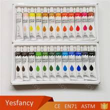 wholesale good quality 12ml 12 colours acrylic painting techniques