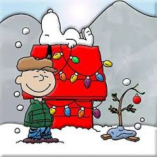 snoopy tree a brown christmas tree poster 24 x 24 inch looks awesome