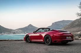 convertible porsche red 2017 porsche 911 carrera 4 gts review gtspirit