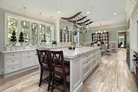 get your vintage kitchen with rustic wood porcelain tile home