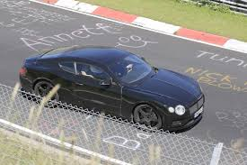 2016 bentley falcon spied next gen bentley continental gt takes to the track