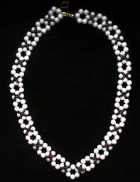 tutorial beading necklace images Free pattern for beaded necklace classic beads magic jpg