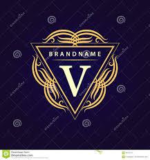 design logo elegant monogram design elements graceful template calligraphic elegant