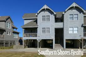 Beachside Townhomes Southern Vacation Rentals Outer Banks Condo Rentals Southern Shores Realty