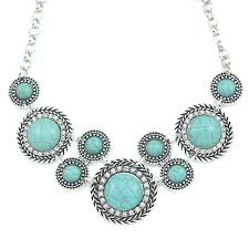 vintage blue stone necklace images Buy designer vintage blue stone choker necklaces jpg
