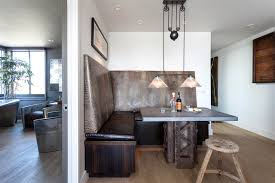 Dining Room Booth Leather Booth Houzz