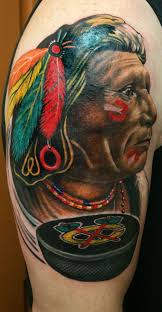 chicago blackhawk tattoonow