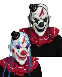 latex killer clown mask candy apple costumes gothic u0026 scary
