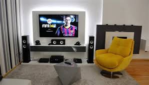 living room gaming pc gaming living room rustic living room