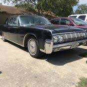 1964 Lincoln Continental Interior Classic 1964 Lincoln Continental Black Interior U0026 Exterior For