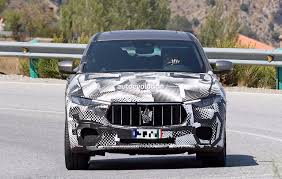Bmw X5 Facelift - spyshots 2018 maserati levante gts with v8 power tests against