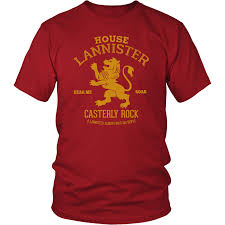 house lannister house lannister t shirt costanza shirts