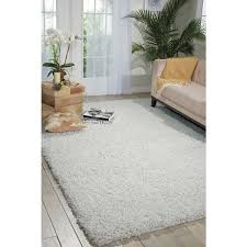 Zen Area Rugs Nourison Zen White Shag Area Rug 7 6 X 9 6 Free Shipping Today