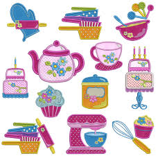 kitchen embroidery designs home decor ryanmathates us in the kitchen machine applique embroidery patterns 12 designs 2 sizes