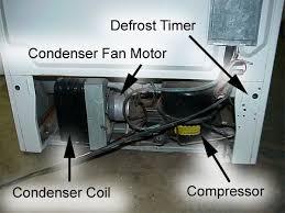 refrigerator condenser fan admiral refrigerator diagnostic chart