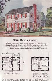 revival house plans martha washington colonial revival kit house plan 1923