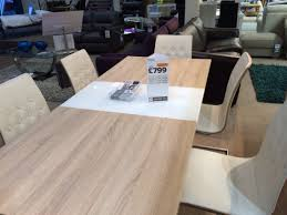 vieux extending dining table in white harveysfurniture co uk the