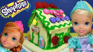 Decorating A New Build Home Shopkins Vanilla House Elsa U0026 Anna Toddlers Build U0026 Decorate It
